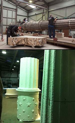 Classical column takes shape for States
